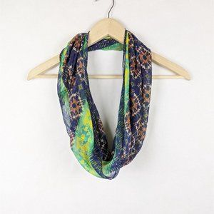 Collection Eighteen Multi-Color Infinity Scarf